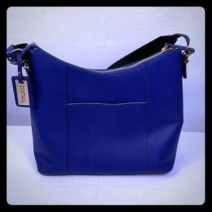 Cynthia Rowley Royal Blue Shoulder Bag EUC